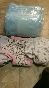 Pottytraining undies and bed pads in Cherry Point, North Carolina