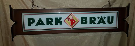 Park Beer Lighted Hanging Light in Ramstein, Germany
