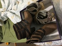 Boots size 7 and sandals size 51/2 in Okinawa, Japan