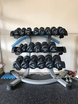 DUMBBELL SET AND RACK in Okinawa, Japan