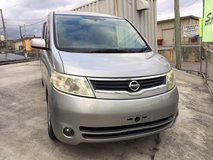 2005 Nissan Serena - Backup/Sideview Camera - Rear DVD - 8 Passenger - Compare & $ave! in Okinawa, Japan