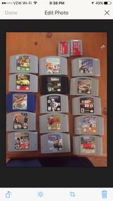 Nintendo 64 games in Fort Lewis, Washington