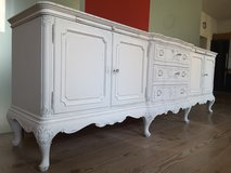 Shabby Chic 9ft Sideboard Chippendale / Baroque style. Vintage in Ramstein, Germany