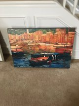 Canvas painting in Oswego, Illinois