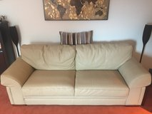 Leather Couch Set in Ramstein, Germany