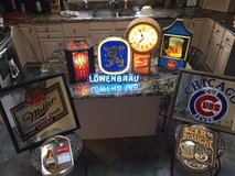 Vintage Bar Lights and Signs in Tinley Park, Illinois
