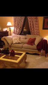 Sofa, loveseat, coffee table and two end tables. in DeKalb, Illinois