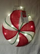 New lighted ornaments in Naperville, Illinois