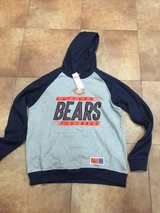 New Mens Chicago Bears Hoodie size L in Sugar Grove, Illinois