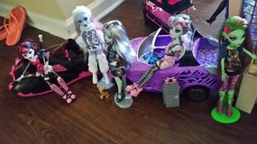 Monster High cars in Hinesville, Georgia