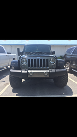 Jeep bumper and grill in Moody AFB, Georgia