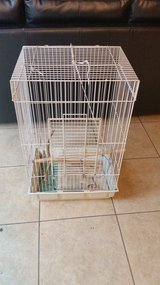 Used bird cage in Oceanside, California
