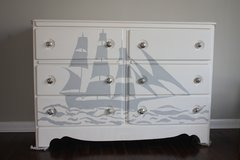Beautiful Handpainted Chest or Buffet in Macon, Georgia
