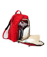 Okkatots Red Backpack Diaper Bag in Bolingbrook, Illinois