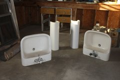 pedestal sinks -1 used; 2 new. in Macon, Georgia