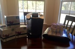 Keurig, kcup storage tray and  97 kcups in Fort Rucker, Alabama
