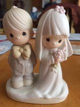 Bride & Groom- The Lord Bless You And Keep You - Precious Moment Figurine in Camp Lejeune, North Carolina