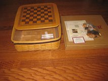 Longaberger 2001 Fathers Day Basket Large Checker Set Combo in Fort Rucker, Alabama
