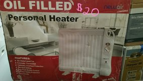 Oil filled personal heater in Lockport, Illinois
