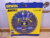 Irwin 7 1/4 Saw Blade (2) in Ramstein, Germany