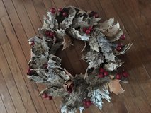 Birch tree wreath ~ neat! in Elgin, Illinois