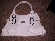 Vintage White Leather Coach Purse in Perry, Georgia