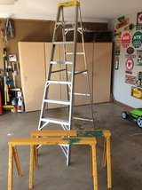 8 ft. Warner Aluminum Step Ladder in Byron, Georgia