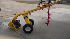 Auger/posthole digger in Fort Polk, Louisiana