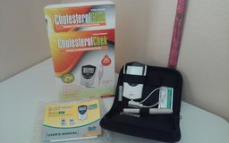 Q. Steps Biometer Cholesterol Chek Monitoring System (NIB) in Kingwood, Texas