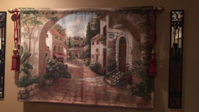 Quaint Town Tapestry in Moody AFB, Georgia