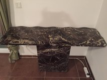 Solid marble table in Ramstein, Germany