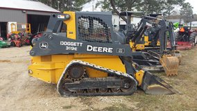 Track loader/skid steer in Fort Polk, Louisiana