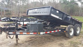 Dump Trailer/hydraulic 7' by 12' in Fort Polk, Louisiana