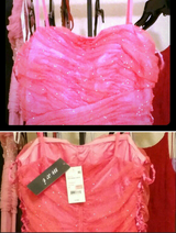 Sparkly Pink Prom Dress nwt in San Clemente, California