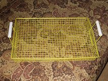 yellow wire tray in Oswego, Illinois