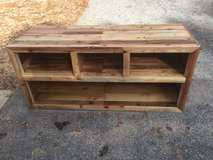 """Rustic 65"""" tv stand for sale in Fort Benning, Georgia"""