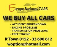 WE BUY ALL CARS in Ramstein, Germany