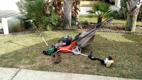 Lawn Equipment set in Eglin AFB, Florida
