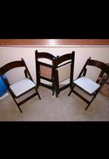 Brand NEW, Wood Folding Chairs in Fort Lewis, Washington