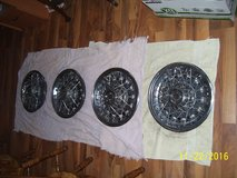 "14""wire wheel covers Chevy Set in Batavia, Illinois"