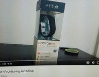 New FitBit Charge HR - black, small in Perry, Georgia
