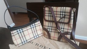 Authentic Burberry Cross Body purse and small bag in Travis AFB, California