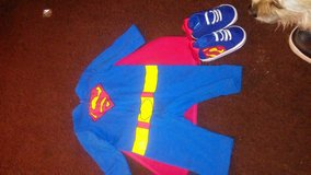 Superman outfit and shoes in Barstow, California