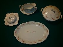 Vintage Carlsbad China 7 piece serving set in Perry, Georgia