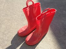 Youth Rubber Boots - Red in Beaufort, South Carolina