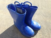 Blue Youth Rubber Boots in Beaufort, South Carolina