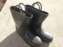 Black Youth Rubber Boots in Beaufort, South Carolina