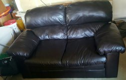 Leather  couch in Vacaville, California