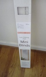 "31"" x 64"" White Mini Blind NIP in Camp Lejeune, North Carolina"