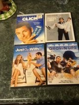 Adam Sandler DVD collection 4 movies in Aurora, Illinois